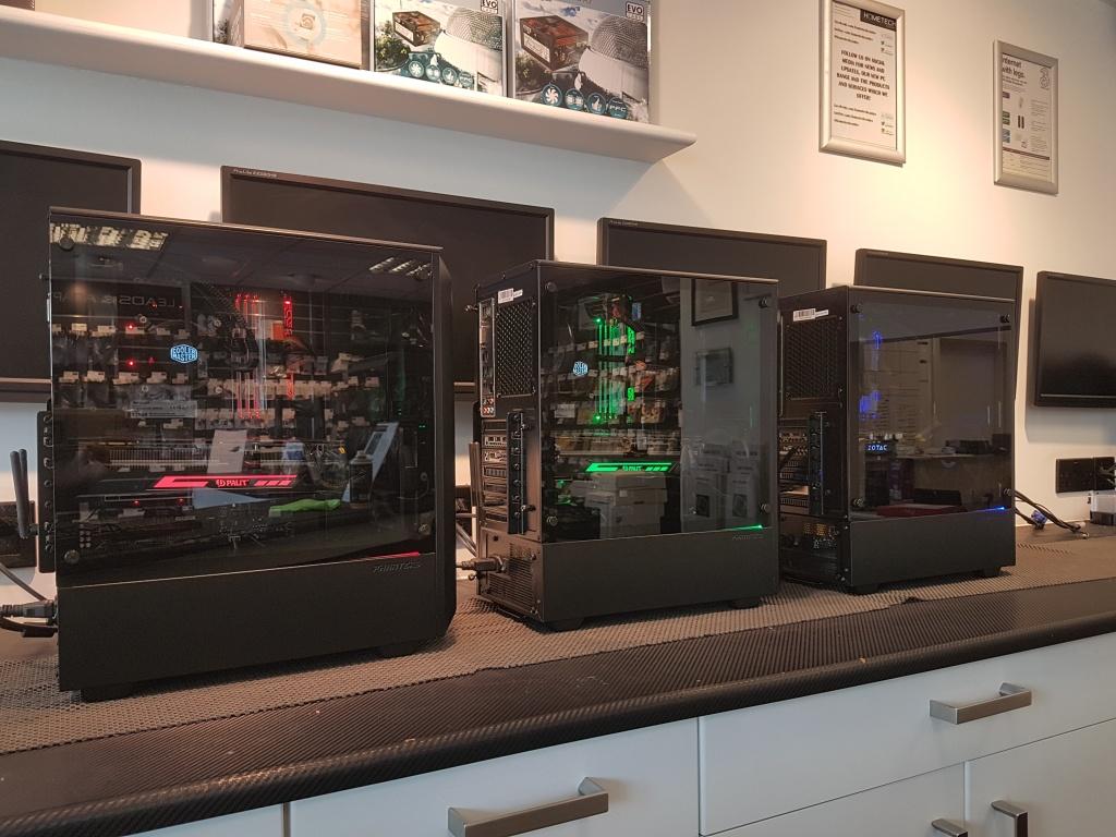 custom RGB gaming computer